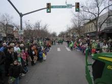 Big turnout for the parade even with the chilly weather