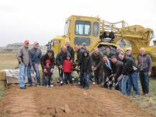 Bucking Horse team officially breaking ground