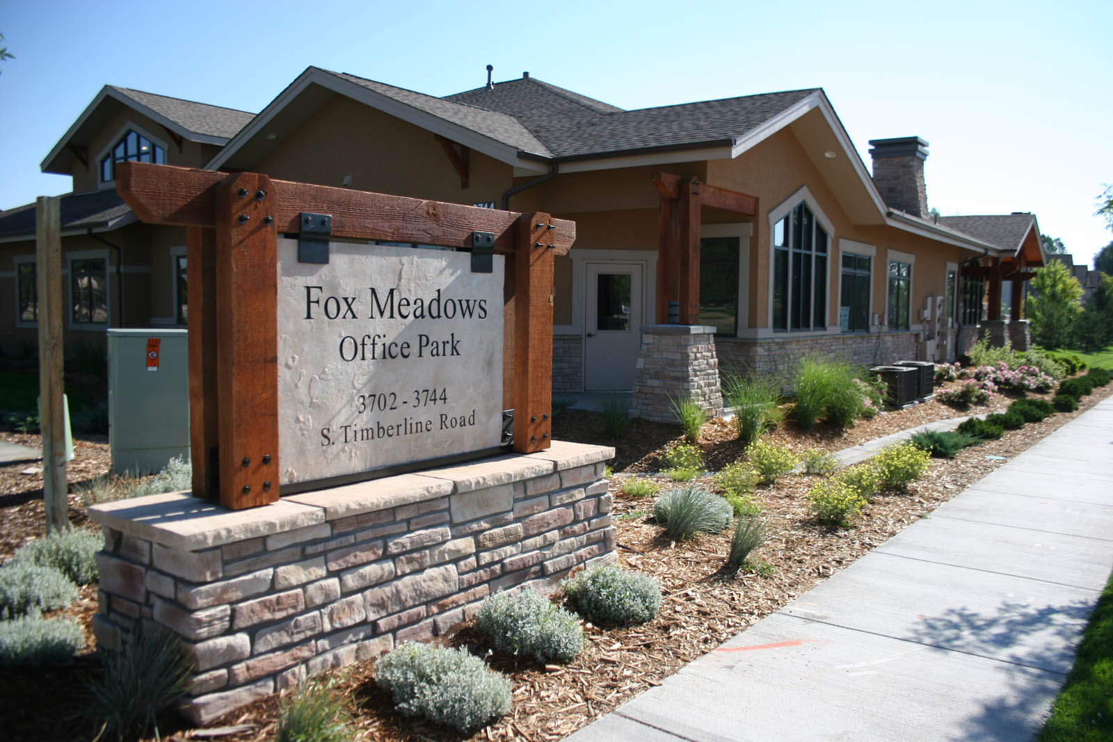 Fox Meadows Office Park entry