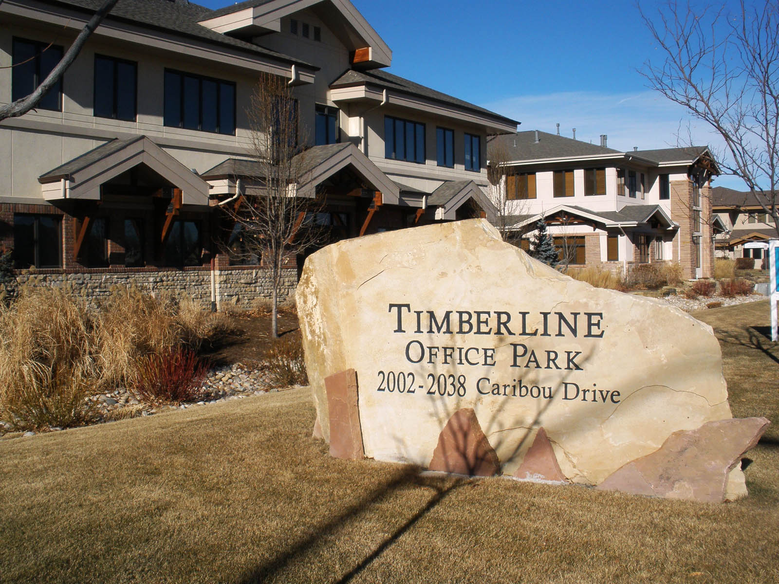 Timberline Office Park entry