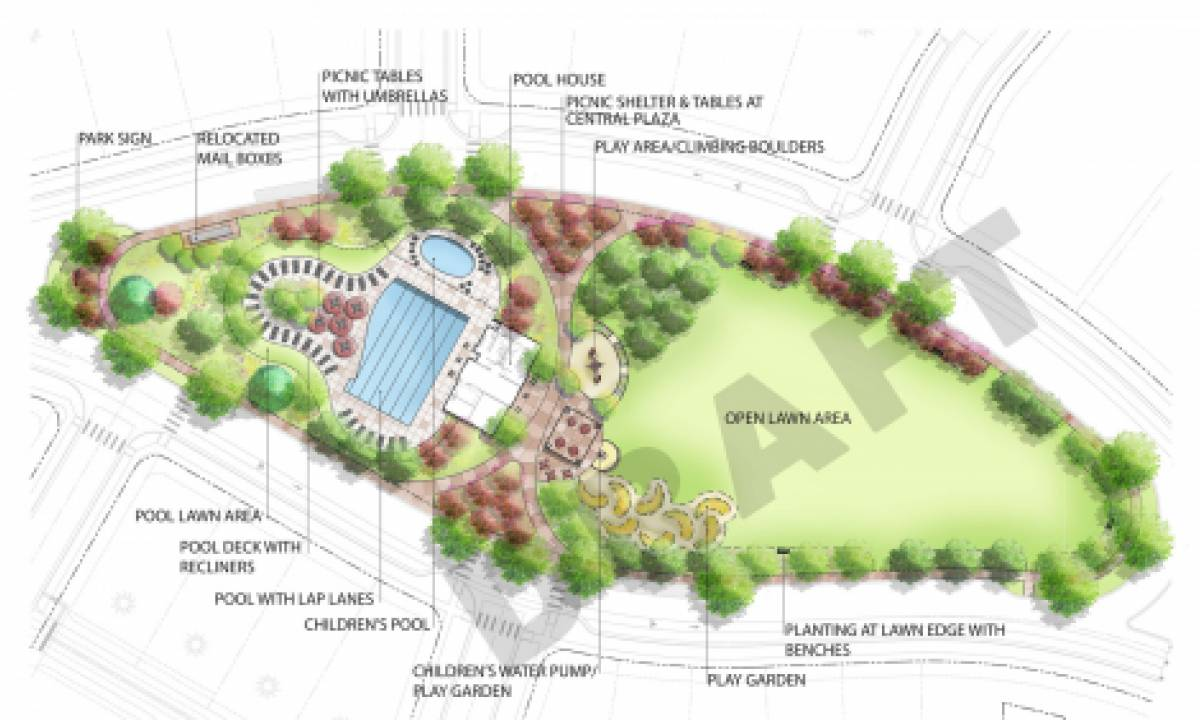 Bucking Horse DRAFT Neighborhood Park and Pool Plan